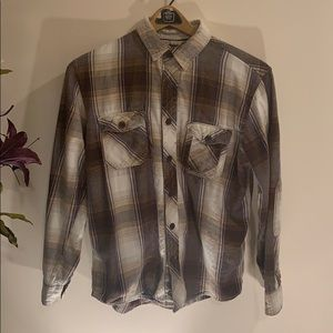 Men's Roebuck and Co. Flannel Shirt